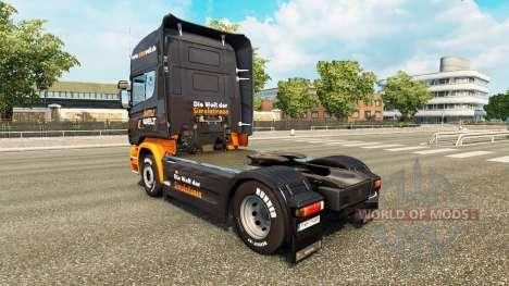La peau Simuwelt sur tracteur Scania pour Euro Truck Simulator 2