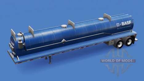 Haut die BASF auf den Behälter für Säuren für American Truck Simulator
