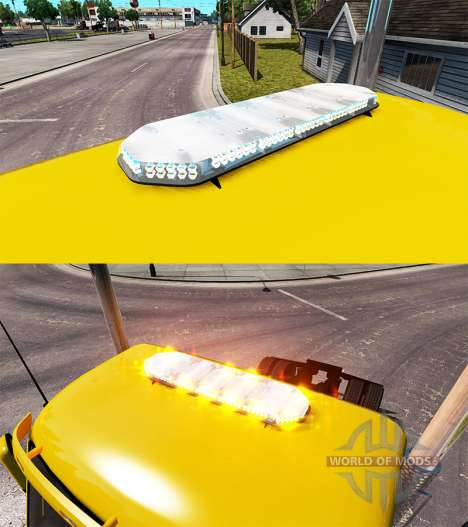 Strobe light v1.5 für American Truck Simulator