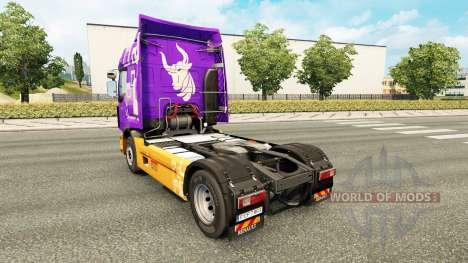 La peau Rensped pour tracteur Renault pour Euro Truck Simulator 2