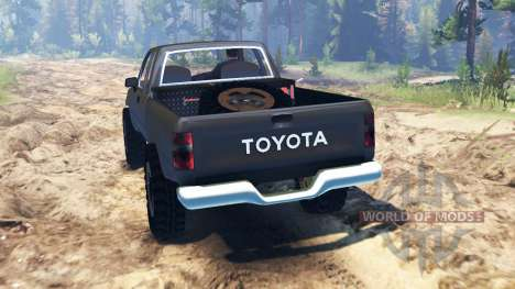 Toyota Hilux Xtra Cab 1993 pour Spin Tires