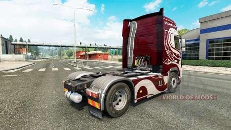 Fantasy-skin für den Volvo truck für Euro Truck Simulator 2