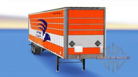La peau de la Livraison Express sur la remorque pour American Truck Simulator