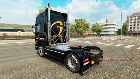 Tegma Logistic skin für Scania-LKW für Euro Truck Simulator 2