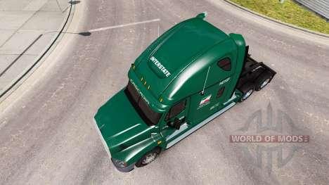 Haut für INTERSTATE LKW Freightliner Cascadia für American Truck Simulator
