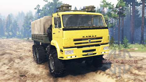 KamAZ-65222 für Spin Tires