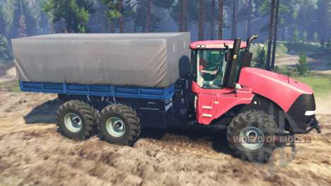 Case IH 620 Turbo pour Spin Tires