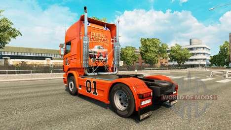 Haut Hazzard v2.0 LKW Scania für Euro Truck Simulator 2