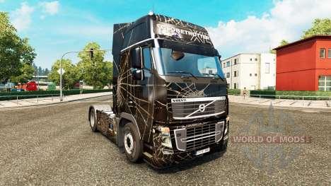 Araignee-skin für den Volvo truck für Euro Truck Simulator 2