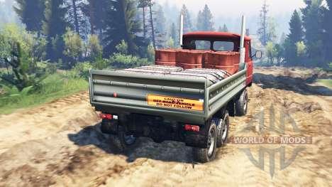 UAZ-33036 6x6 v2.0 pour Spin Tires