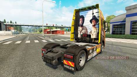 Spencer Hill peau pour Volvo camion pour Euro Truck Simulator 2