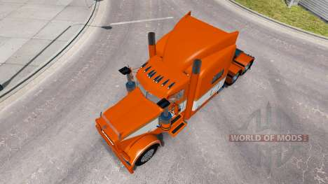 Скин Tri-State Rohstoffe на Peterbilt 389 für American Truck Simulator