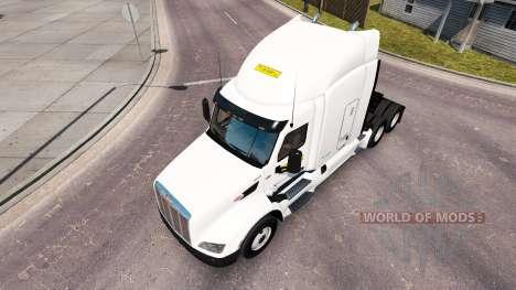 Haut auf J. B. Hunt trucks Peterbilt und Volvo für American Truck Simulator