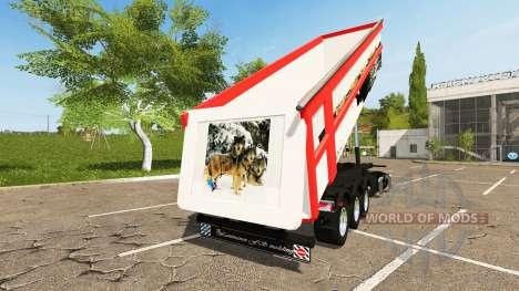 Schmitz Cargobull SKI 24 Wolf pour Farming Simulator 2017