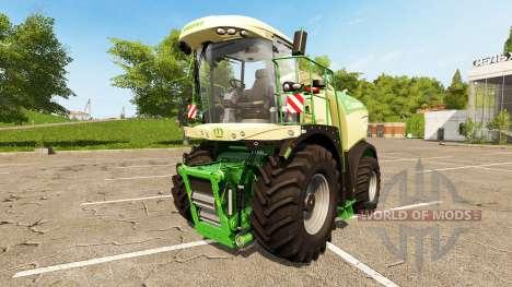 Krone BiG X 580 für Farming Simulator 2017