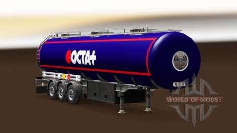Haut Octa Kraftstoff-semi-trailer für Euro Truck Simulator 2