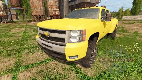 Chevrolet Silverado 3500 HD für Farming Simulator 2017