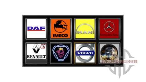 Logos von realen Firmen für Euro Truck Simulator 2