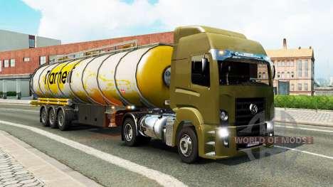 Eine Sammlung von LKW-Transport-Verkehr v1.3 für Euro Truck Simulator 2