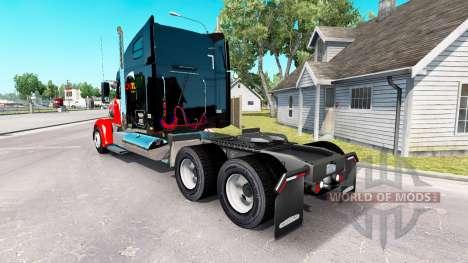 Haut STRG auf der truck-Freightliner Coronado für American Truck Simulator