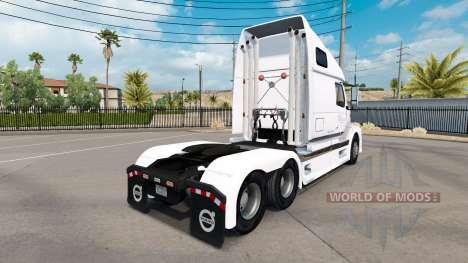 La peau B. A. H. Express camion Volvo VNL 670 pour American Truck Simulator