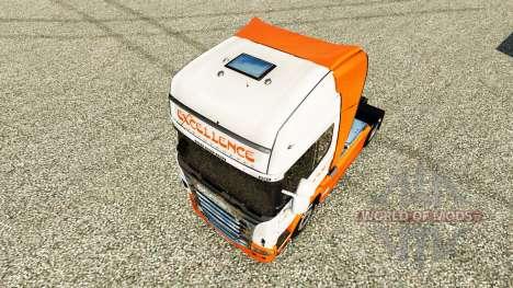 L'Excellence de Transportes de la peau pour Scan pour Euro Truck Simulator 2