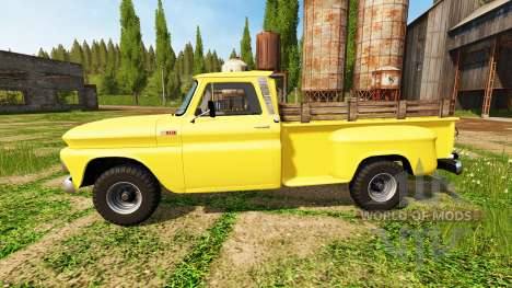 Chevrolet C10 Fleetside 1966 4x4 pour Farming Simulator 2017