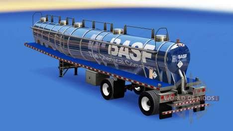 Haut der BASF für Chemische Behälter für American Truck Simulator