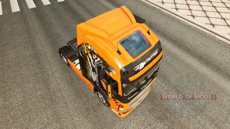 Wild skin für den Volvo truck für Euro Truck Simulator 2