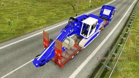 Haut T. van der Vijver bei niedrigen sweep für Euro Truck Simulator 2