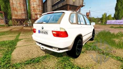 BMW X5 Unmarked Police pour Farming Simulator 2017