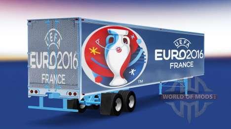 Haut Euro 2016-trailer für American Truck Simulator