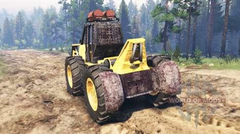 John Deere 540B für Spin Tires