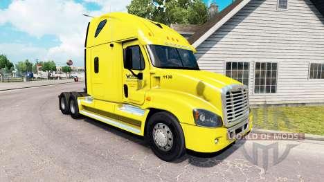 Скин Veriha Camionnage на Freightliner Cascadia pour American Truck Simulator