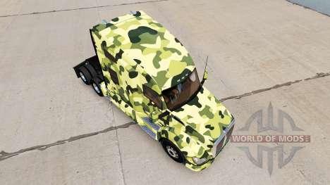 Haut Camouflage für die Zugmaschine Kenworth für American Truck Simulator