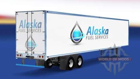 La peau de l'Alaska Services de Carburant sur la pour American Truck Simulator