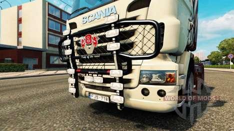 Die Stoßstange V8 v2.0 LKW Scania für Euro Truck Simulator 2