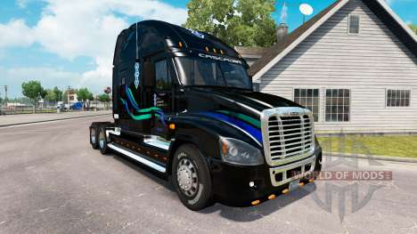 Скин Jean Christner на Freightliner Cascadia pour American Truck Simulator