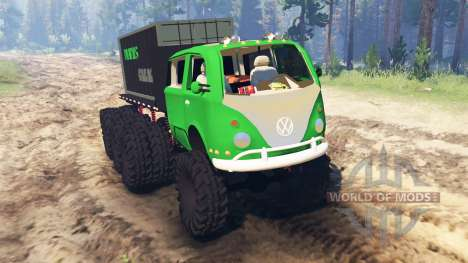 Volkswagen Samba 8x8 pour Spin Tires