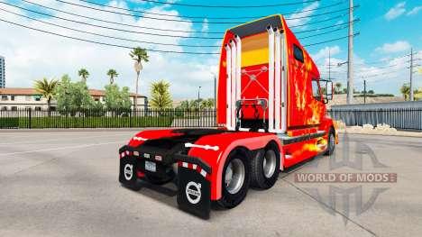 Le feu de la peau pour les camions Volvo VNL 670 pour American Truck Simulator