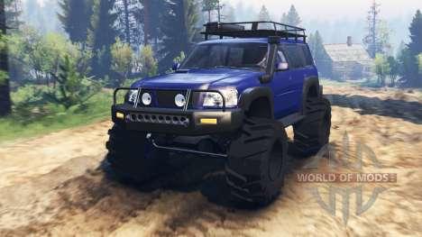 Nissan Patrol v2.0 für Spin Tires