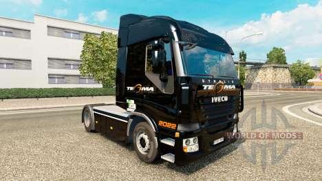Tegma Logistik-skin für Iveco-Zugmaschine für Euro Truck Simulator 2