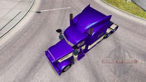 Metallic Pourpre de la peau pour le camion Peter pour American Truck Simulator