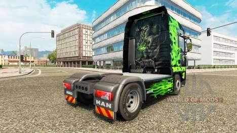 Green Dragon-skin für MAN-LKW für Euro Truck Simulator 2