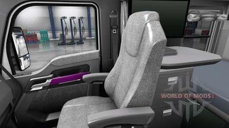 Innen Rosa Zifferblatt für Kenworth T680 für American Truck Simulator
