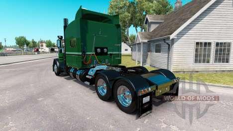 La peau Seidler de Camionnage pour le camion Peterbilt 389 pour American Truck Simulator