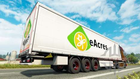 De nouvelles roues pour remorques pour Euro Truck Simulator 2