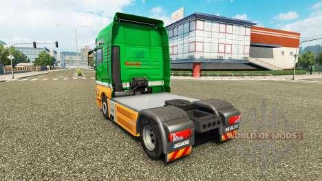 Karcag Trans peau pour l'HOMME de camion pour Euro Truck Simulator 2