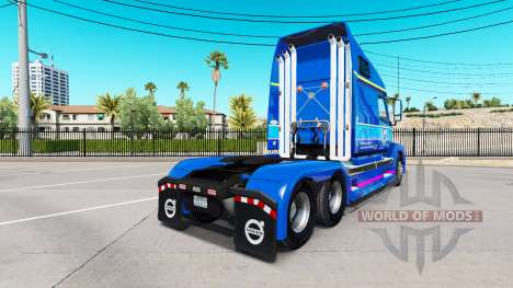 Haut Plycool auf Sattelzugmaschine Volvo VNL 670 für American Truck Simulator