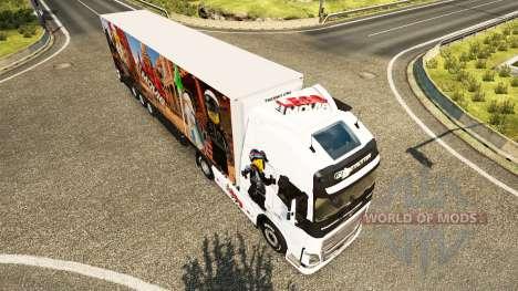 Le Lego de la peau pour Volvo camion pour Euro Truck Simulator 2